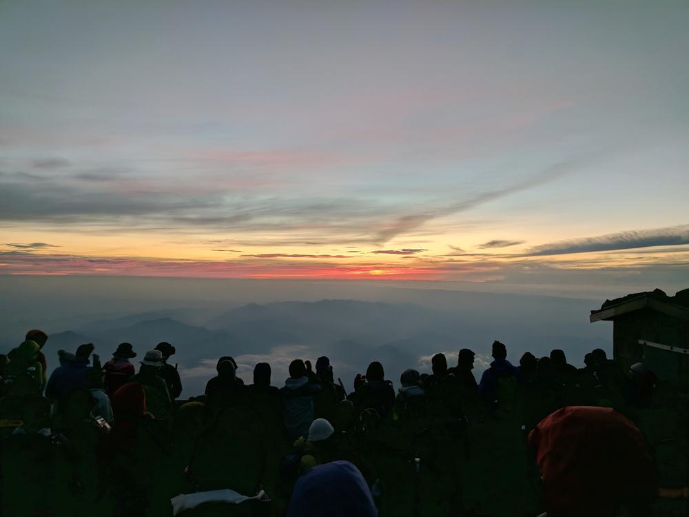 Sunrise on Fuji
