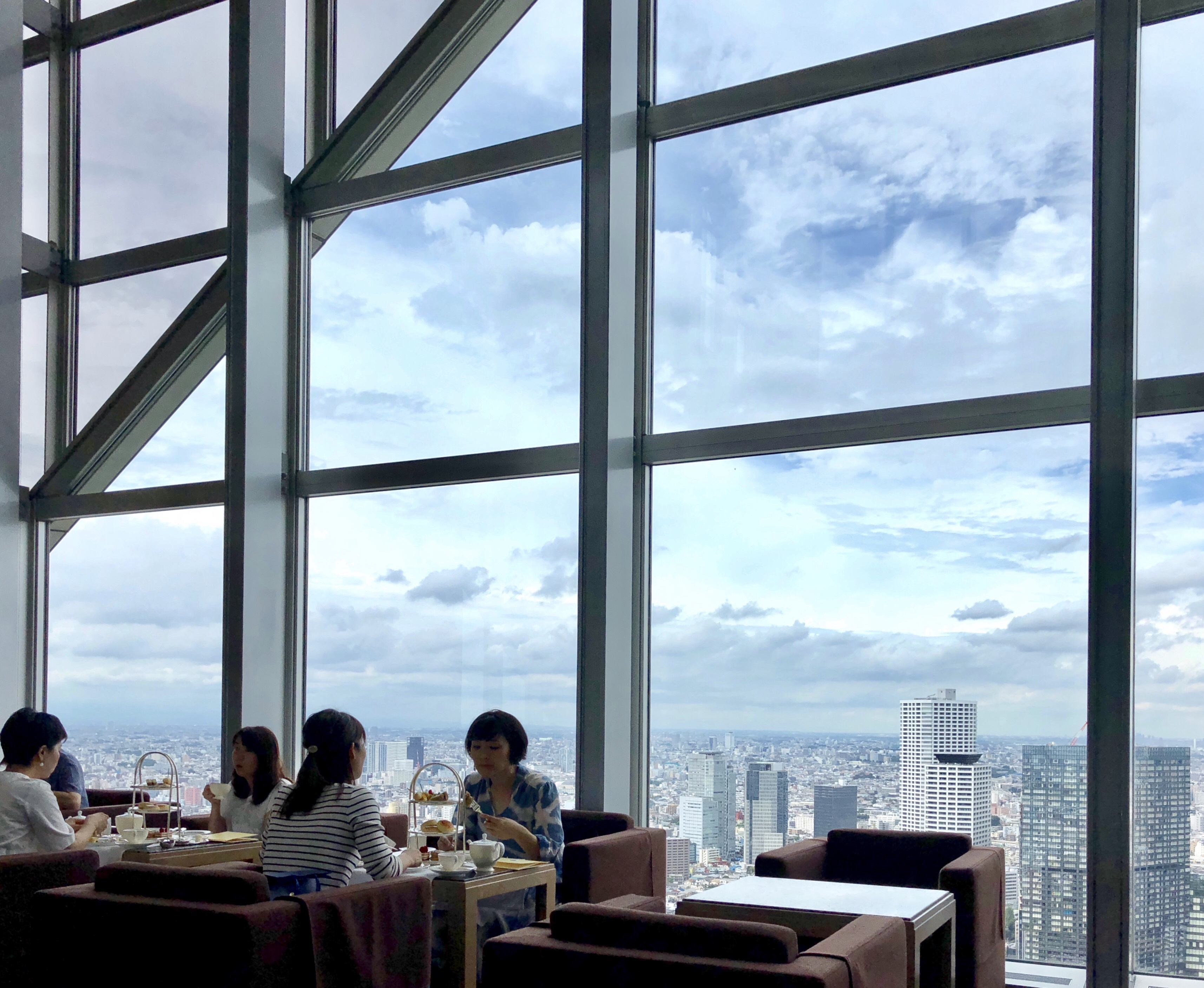 View from the Peak Lounge