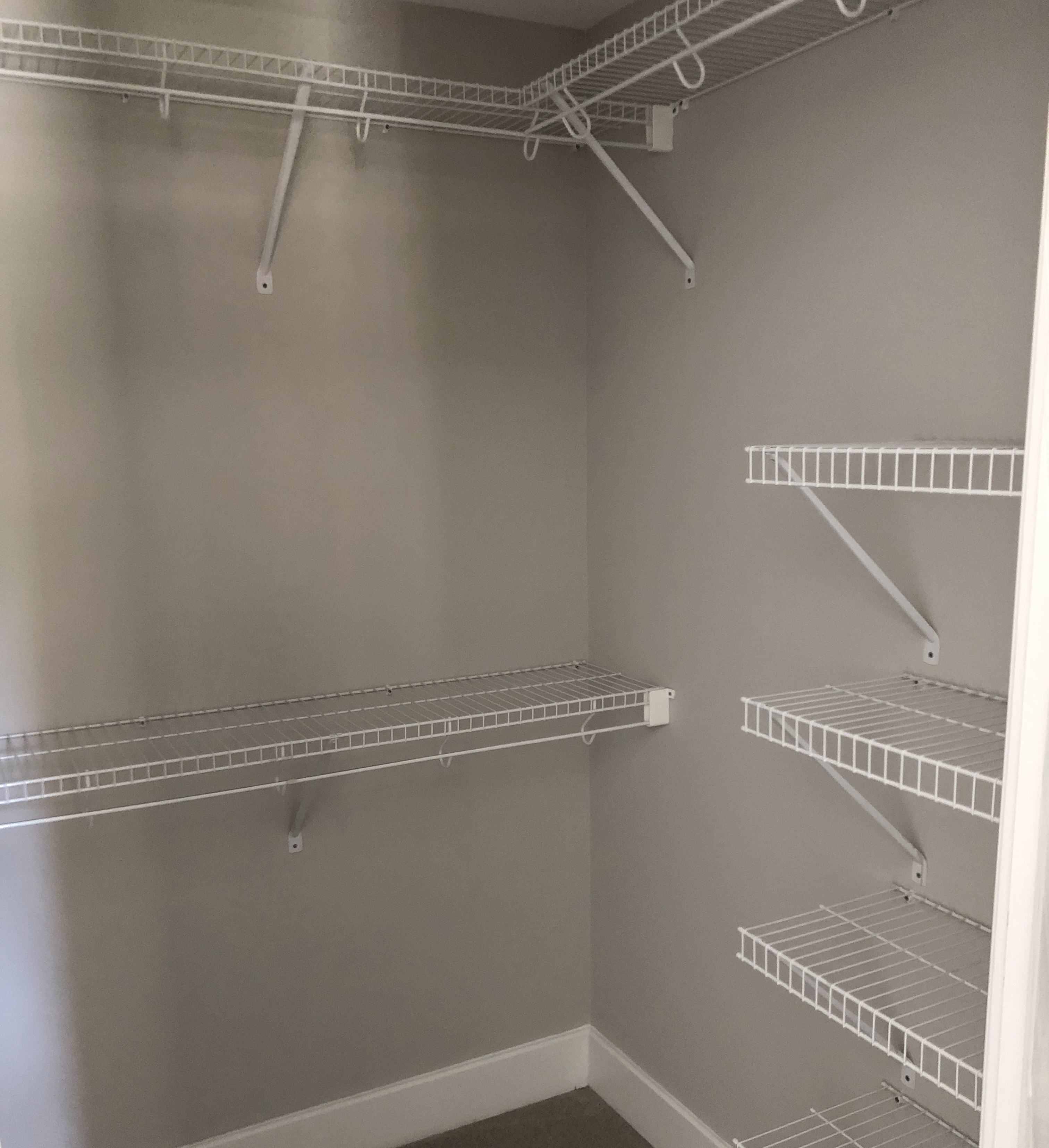 A closet space