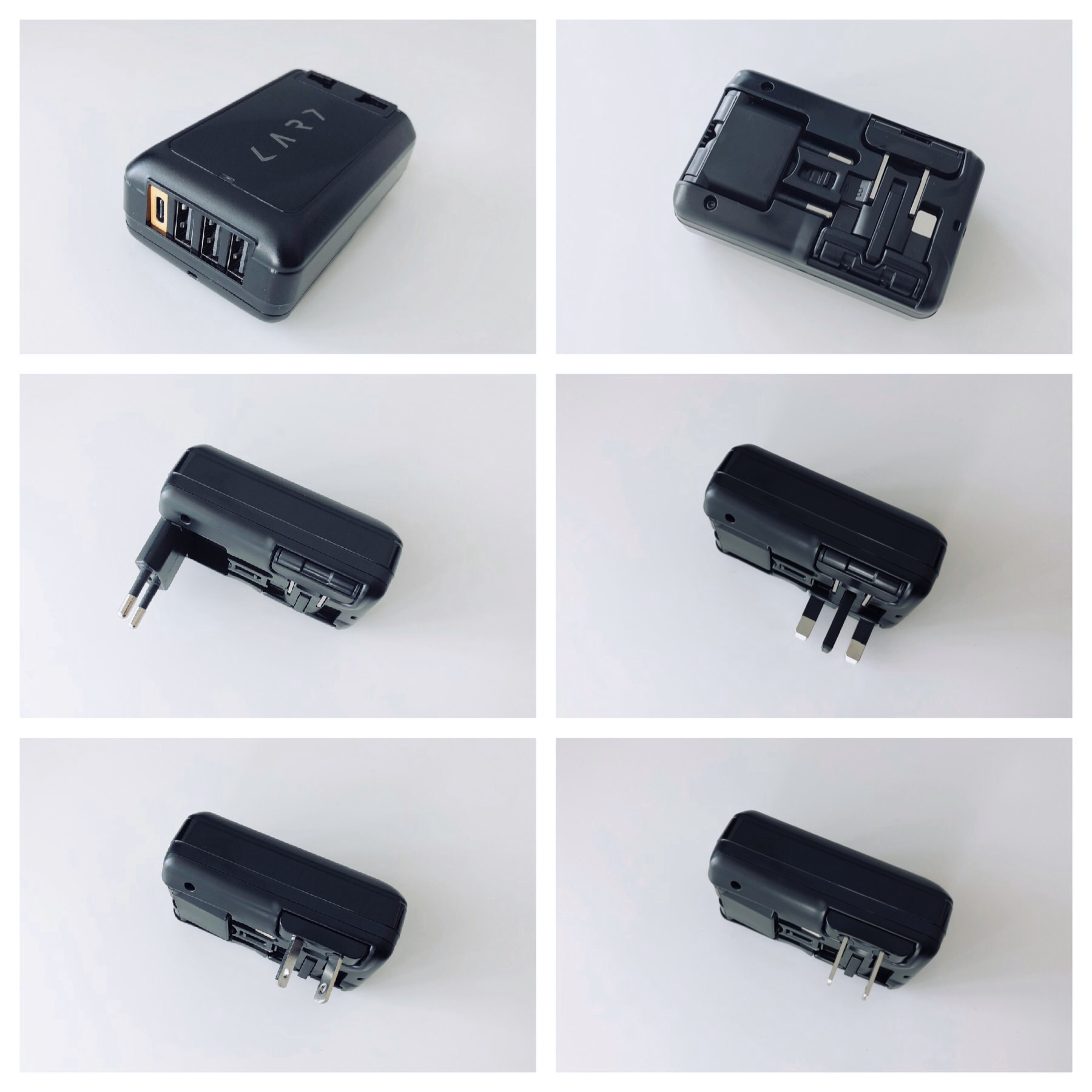 The CARD charger configurations