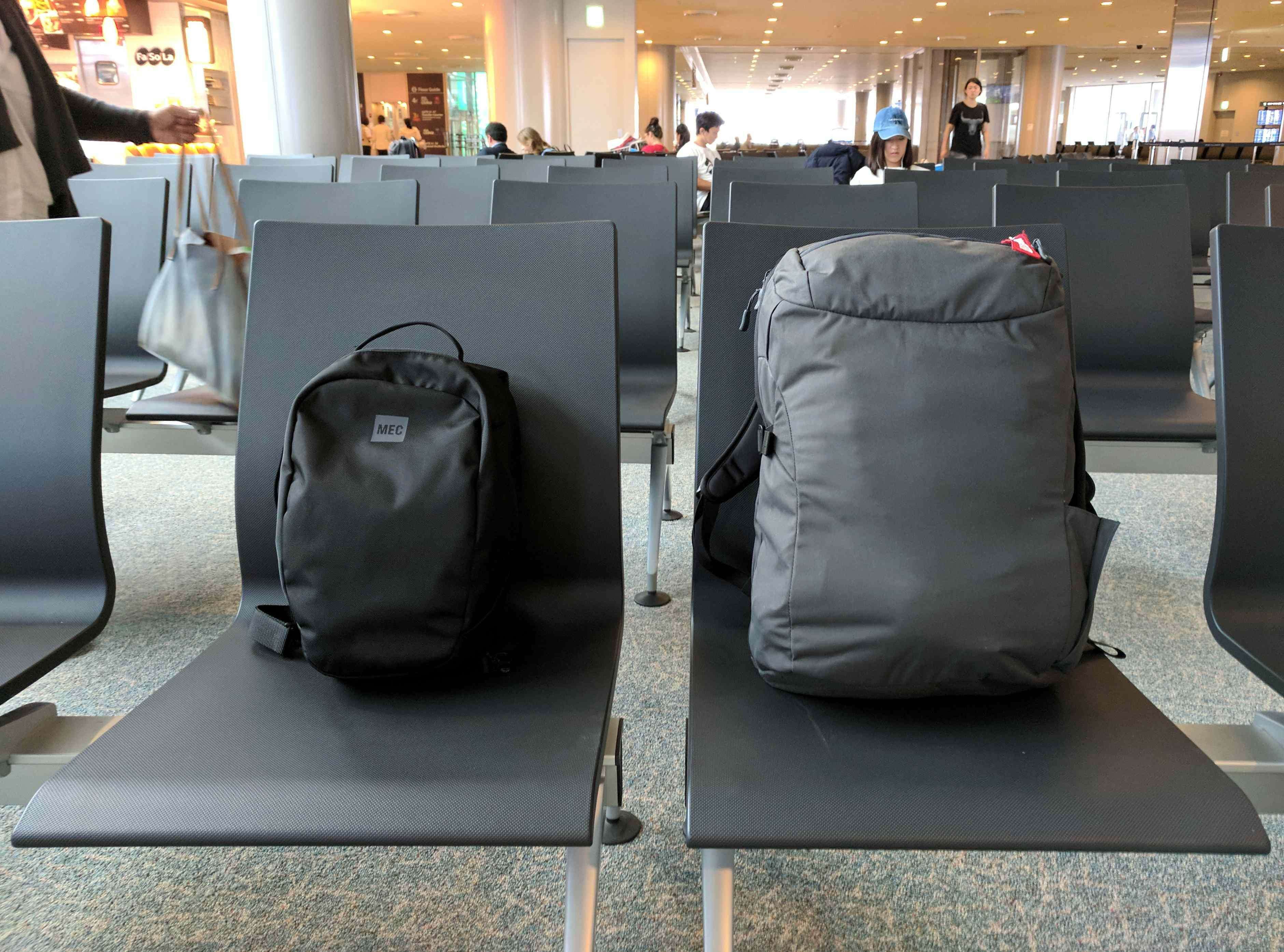 My Blitz Crag and Minaal at the airport